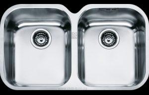 Franke AMX120 double undermount sink 1990098