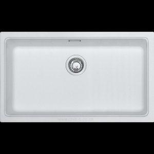 big under-mount under slung granite kitchen sink