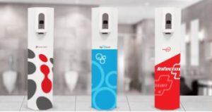 free standing hands bulk sanitizers